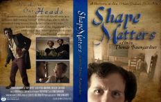 A DVD case I designed for Shape Matters